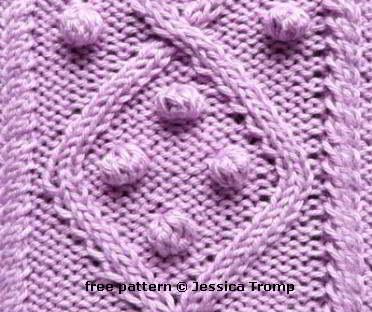 01 English aran cable knit stitch patterns