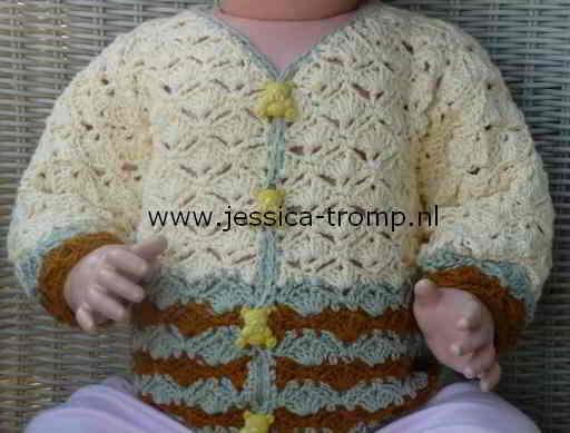 Gehaakt Babyvestje Haakschema Om Een Vest Te Haken