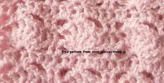 Roze Baby Vestje Haakpatroon Voor Maat 80
