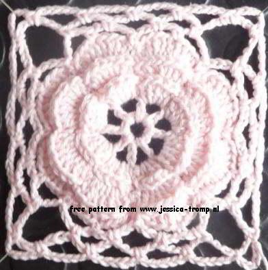 03 Crochet Granny Squares Vierkanten Haken