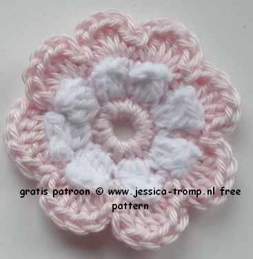 23 Crochet Flowers Patterns Haakpatronen Bloemen Haken