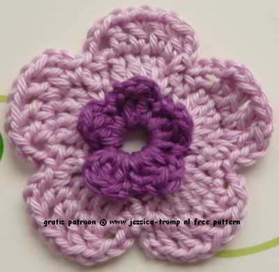 Wonderbaar 08 crochet flowers patterns haakpatronen bloemen haken QH-98