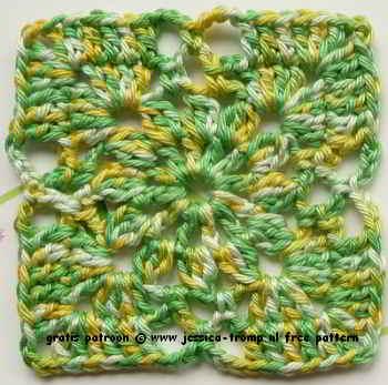 32 Crochet Granny Square Patterns Oma Vierkanten Haken Gehaakte