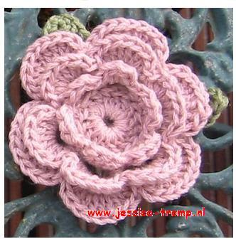 27 Crochet Flowers Patterns Haakpatronen Bloemen Haken