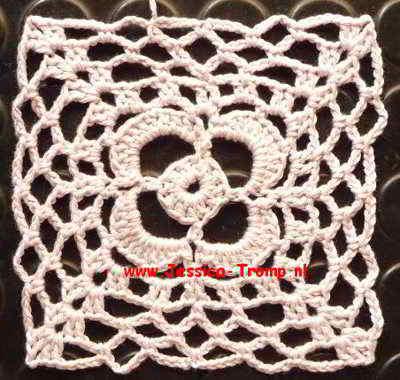 04 Crochet Granny Squares Vierkanten Haken