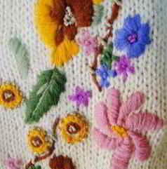 Nieuw 11a English free knittingpatterns woman sweater cardigan basics cms TE-75
