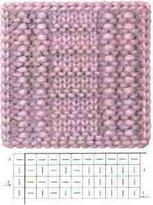 06 English patterns knitting stitches knitstitch