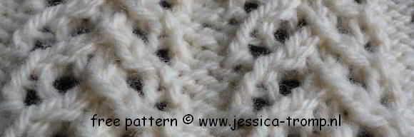 02 English knitting lace knit stitches text and symbols