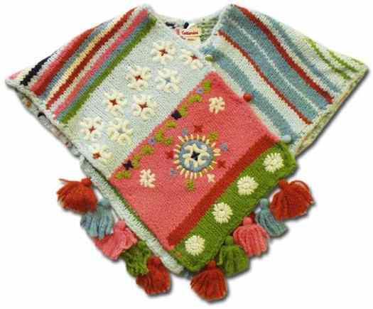 36b English baby ponchos patterns free knitpatterns for 6 12