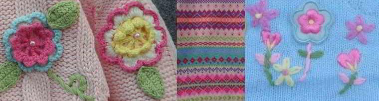 Spiksplinternieuw 35 English children knitting graph kids chart color knit collection 2 LS-68