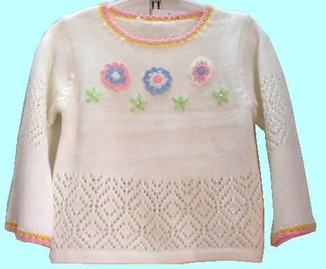 33a English Childrens Sweaters Knit Knitwear Free Knitpattern Size