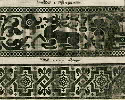 Onwijs 53 English free crochet antique vintage retro filet patterns curtains NC-93