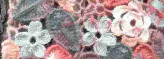 beautiful crocheted flowers for women's clothes