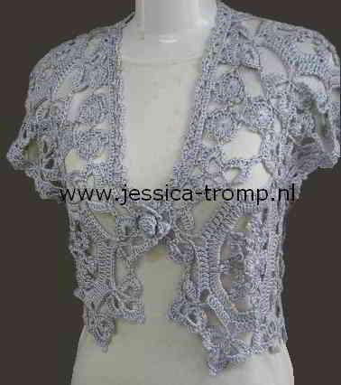 Fonkelnieuw 64 English free crochet patterns women L XL plus size pg 4 IB-08