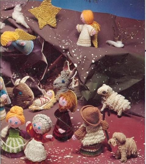Haakpatronen Kerstmis Een Kerststal Haken Kerst Figuren