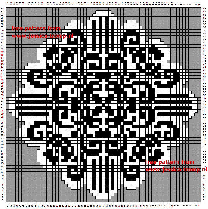 Filet Crochet, Filet Patterns