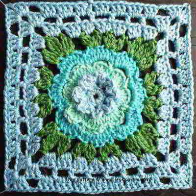 15 Crochet Granny Squares Vierkanten Haken