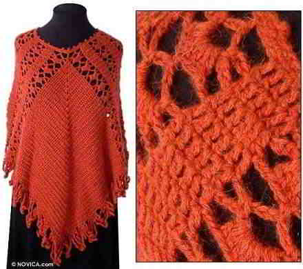 15 English free poncho pattern knitpattern ponchos