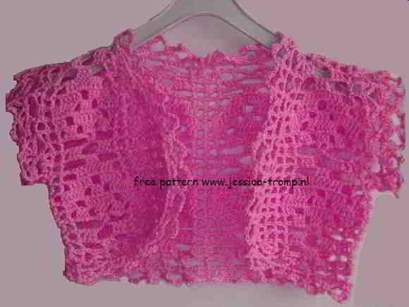 15 8 English Bolero Crochet Patterns Schematics How Tos