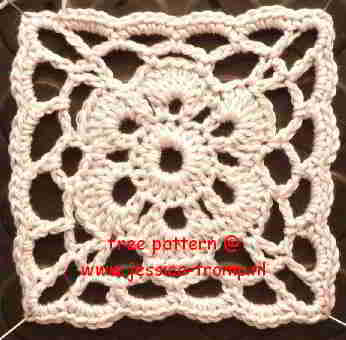 free crochet flower patterns for women's clothing