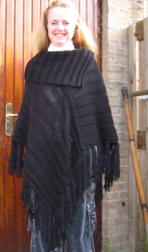 15 English Free Poncho Pattern Knitpattern Ponchos