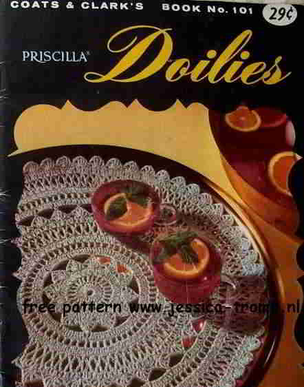Silver Surf English Crochet Pattern Vintage Doily Free Doilies