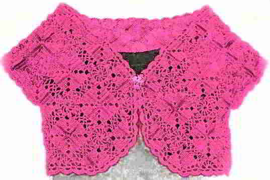 11 English Bolero Crochet Patterns Schematics How Tos