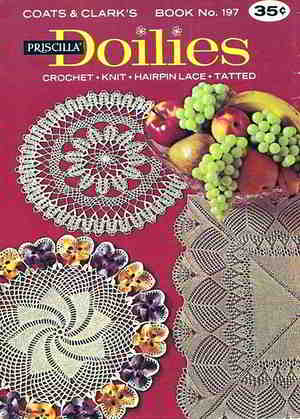 101 English Vintage Crochet Patterns For Free Doily Doilies Pattern