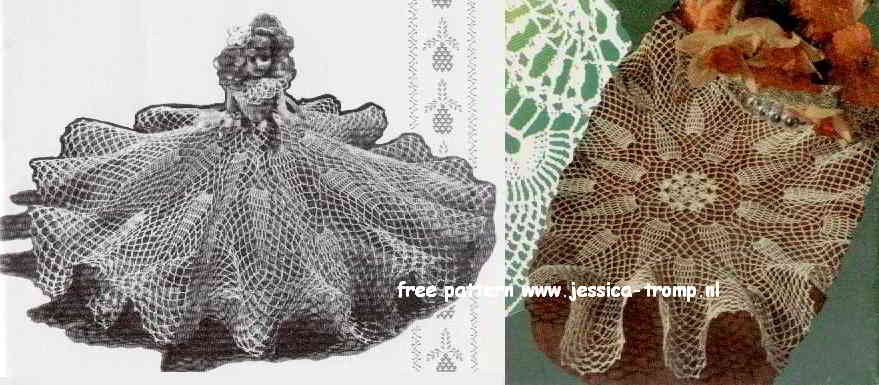 Pineapple Doily Or Doll Dress Free Vintage Crochet Doilies Patterns