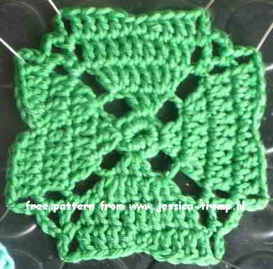 10 Crochet Granny Squares Vierkanten Haken