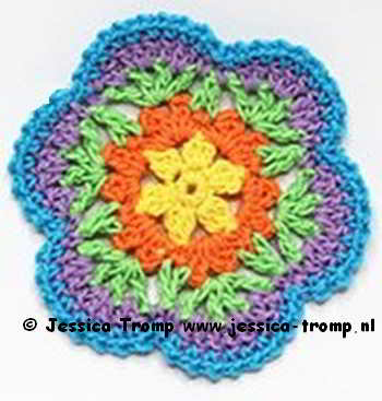 40 Crochet Flowers Patterns Haakpatronen Bloemen Haken