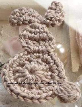 2 Applicaties Kinder Haakpatronen Free Appliqués Children Crochet