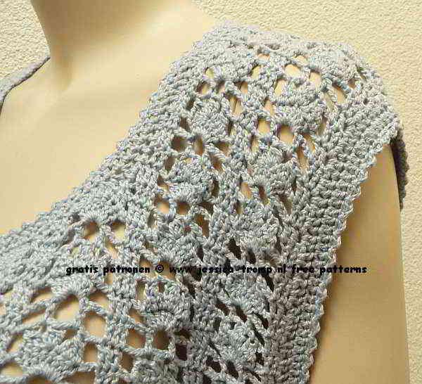 08e2282a01d8e free women s sleeveless cardigan crochet pattern with fantasy stitch
