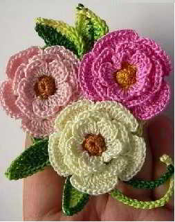 44 Crochet Flowers Patterns Haakpatronen Bloemen Haken
