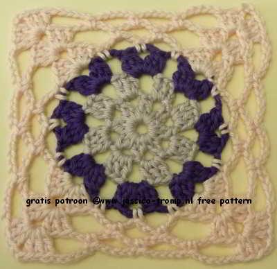 19 Crochet Granny Squares Vierkanten Haken