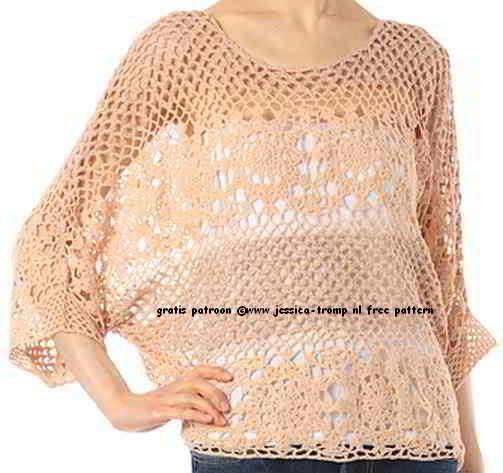 61 English Free Crochetpattern Womens Clothing Basic Woman Patterns 1