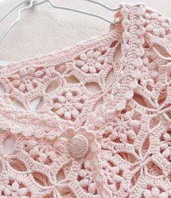 Welp 59 English text 2 free crochet patterns women crocheted with flowers XY-42