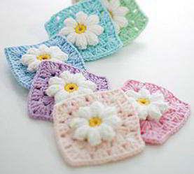 31 Crochet Granny Square Patterns Oma Vierkanten Haken Gehaakte