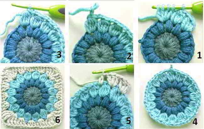 30 Crochet Granny Square Patterns Oma Vierkanten Haken Gehaakte