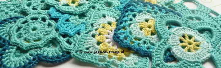 21 Crochet Granny Squares Vierkanten Haken