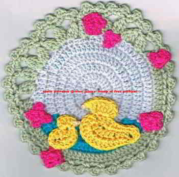 cute applications crochet patterns