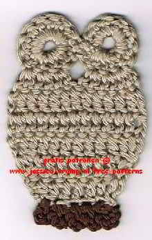 4 Applicaties Kinder Haakpatronen Free Appliqués Children Crochet