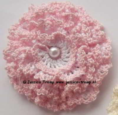 13b Bloemen Haken Opgerolde Bloem Haakpatronen Crochet Rolled Up