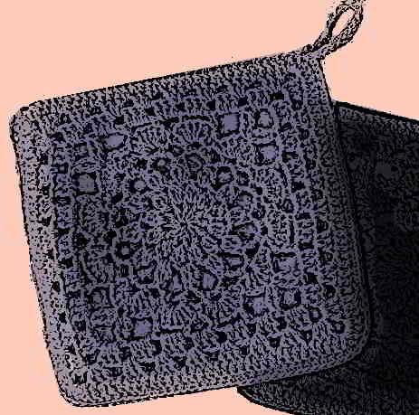42 crochet coasters potholders pannenlappen onderzetters haken