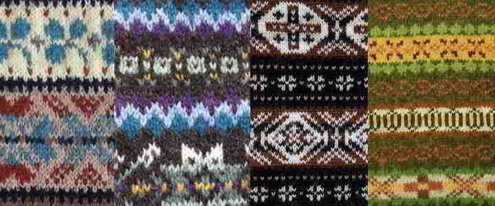 47 Noorse Breipatronen Handgebreide Truien Shetlandse Wol Garens 3