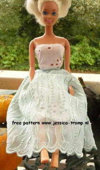 Gratis Barbie Kleding Patronen Archidev