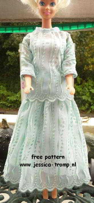 78b Poppen Naaipatronen Antieke Barbie Patronen Oude Poppenkleding