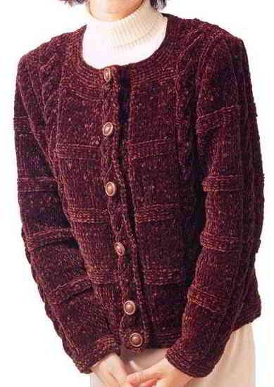 A56 English Aran Japanese Knitting Patterns Size 40 42 44 46 48