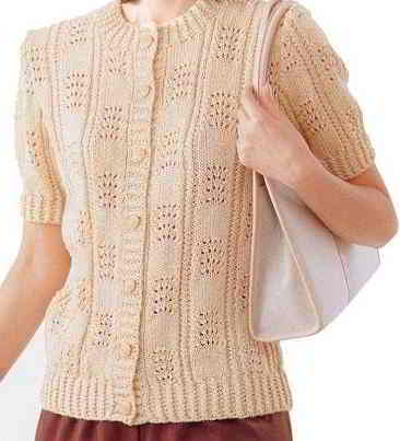 A44 English Aran Japanese Knitting Patterns Size 40 42 44 46 48