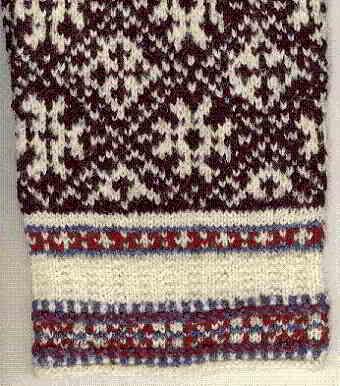 48 English Norwegian Knitwear Fairisle Knittingpattern Color Charts 4